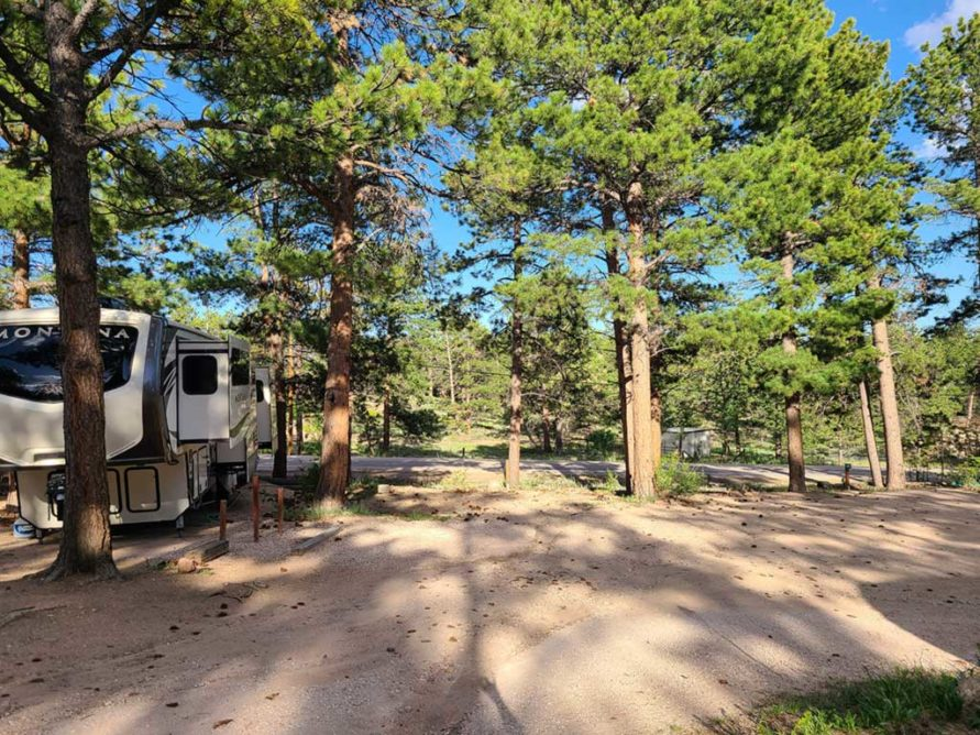 Lot 24  – Large RV Lot (up to 30 feet)