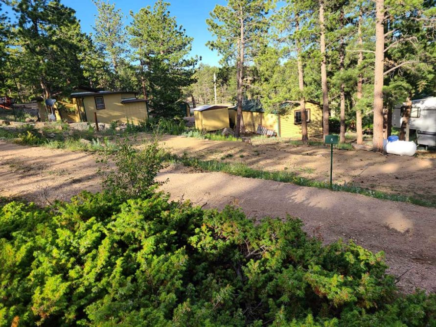 Lot 5  – Large RV Lot (up to 29 feet)