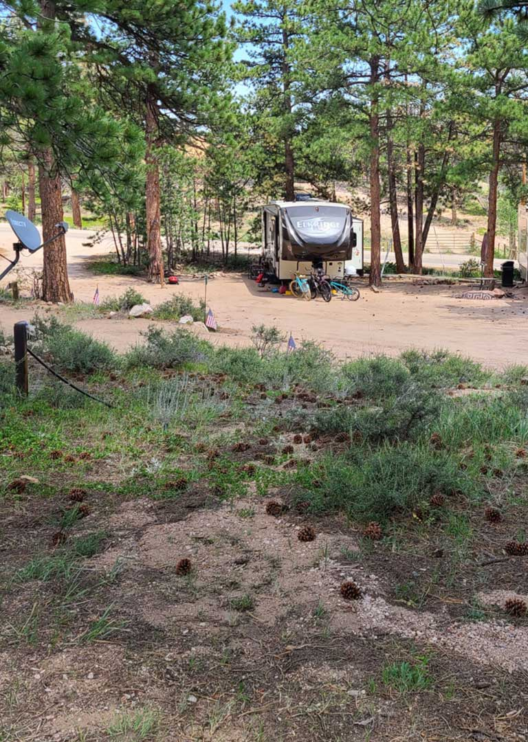 Lot 26  – Large RV Lot (up to 35 feet)