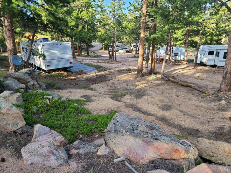 Lot 14  – Large RV Lot (up to 36 feet)