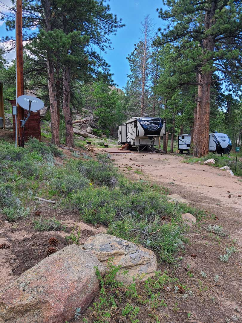 Lot 28  – Large RV Lot (up to 40 feet)